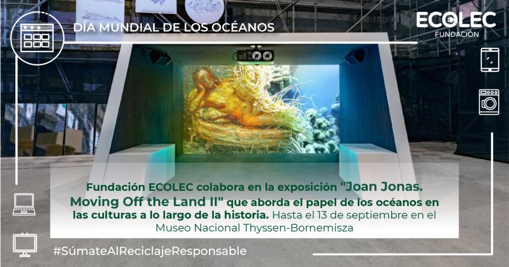 Exposición Joan Jonas. Movingg Off the Land II en el Museo Thyssen