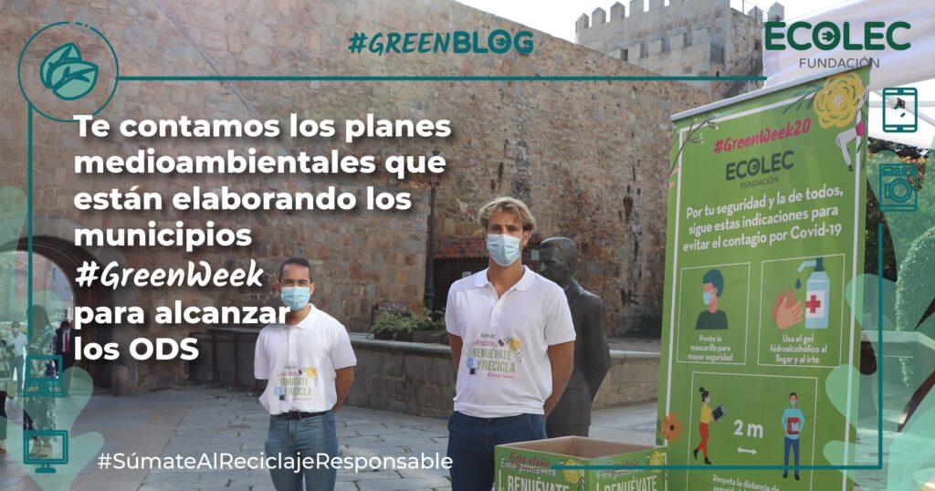 municipios #GreenWeek