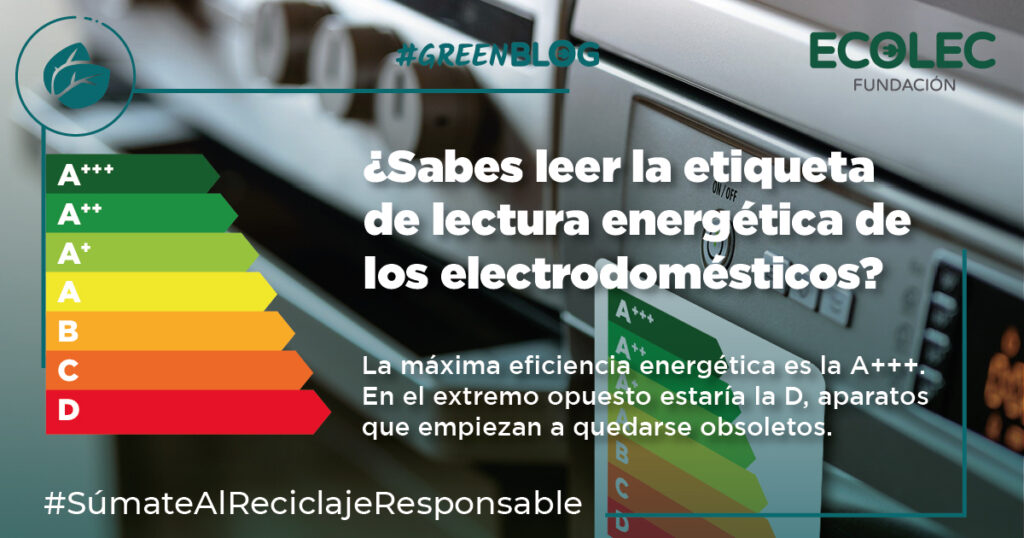 utilizar electrodomésticos de forma eficiente