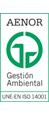 Logo AENOR Gestión Medioambiental